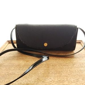 Eric Javits Black Crossbody Clutch